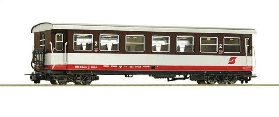 NEU Roco H0e 31032-4 Rollwagen beladen mit offenem E-Wagen der ÖBB