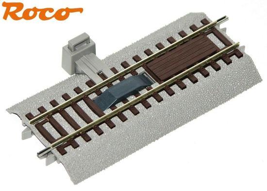 - NEU OVP Roco H0 42508-S Gebogenes Gleis R2 ¼ mit Bettung 6 Stück 7,5°