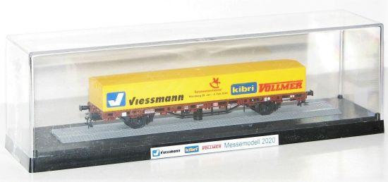 """Beleuchtung/"""" NEU Viessmann H0 5171 Muldenkipper MB ACTROS /""""Blinklicht OVP"""