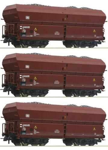 Roco H0 56332 Selbstentladewagen der DB Epoche IV