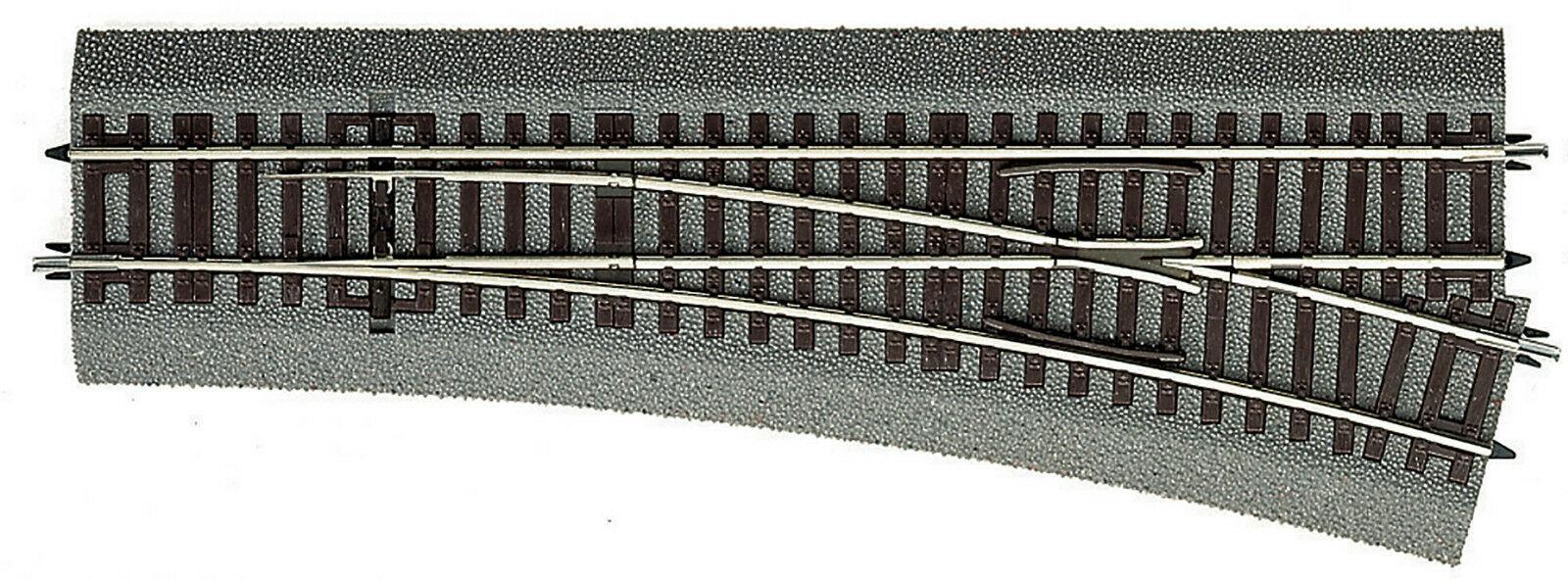 ROCO H0 Line Weiche rechts WR15 mit Antrieb