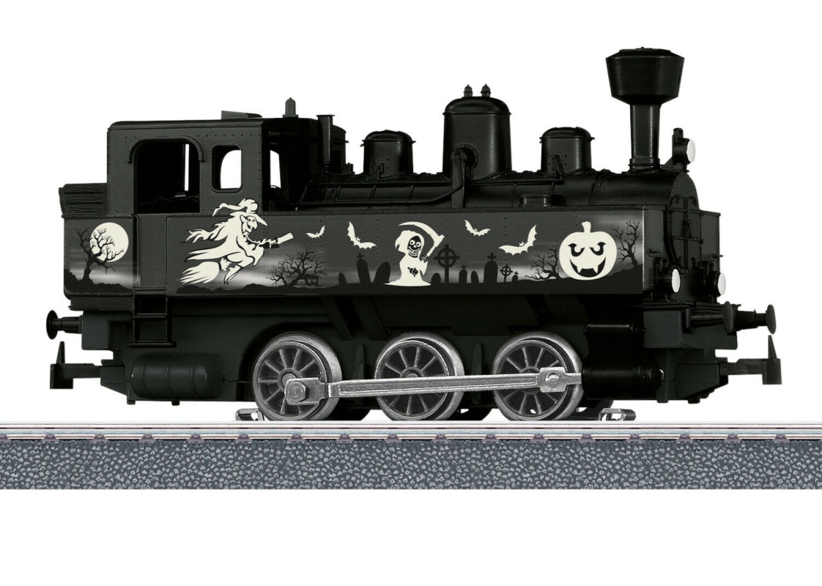 "Märklin H0 36872 Dampflok Halloween - Glow in the Dark ""mfx Digital"""