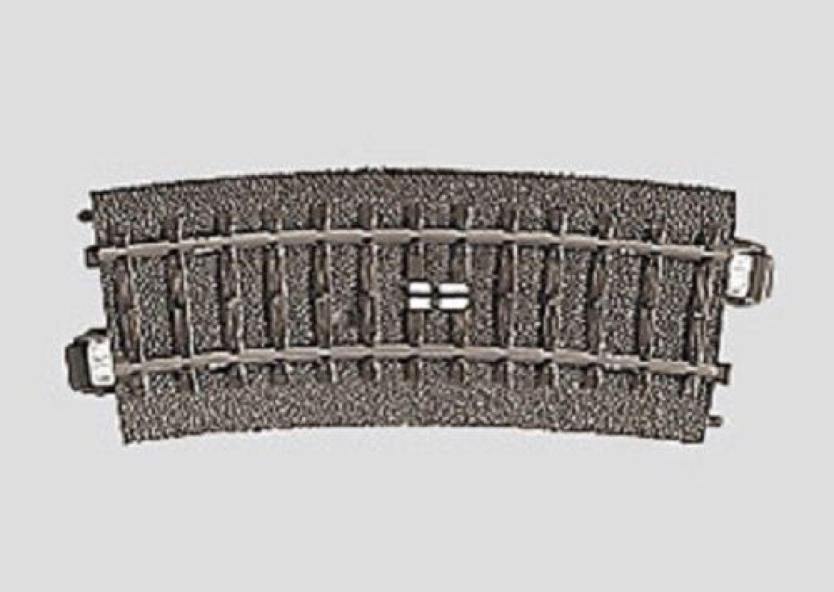 15° H0 Fabrikneu Märklin 24194 C-Gleis Schaltgleis gebogen R1 = 360 mm