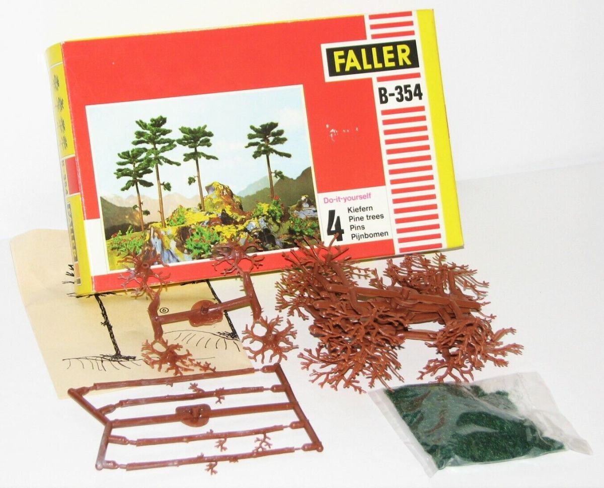 Faller H0 B-354 Do it yourself 4 Kiefern OVP HP1244